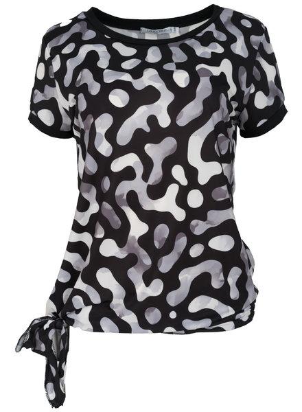 Gemma Ricceri Shirt Lonneke zwart/grijs