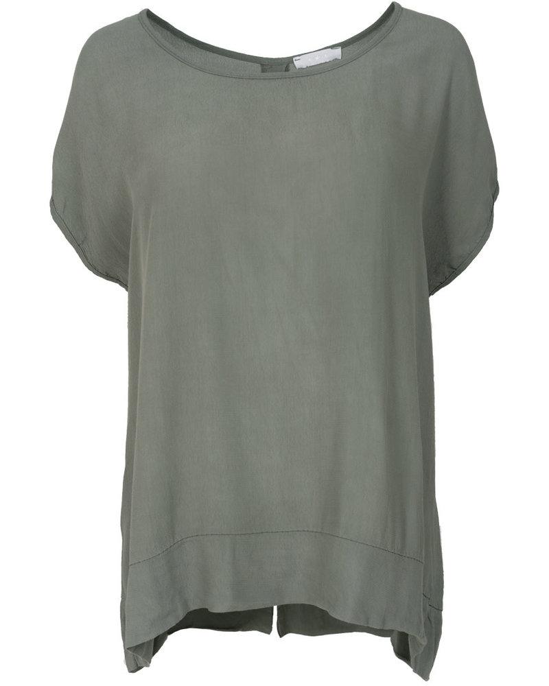 Gemma Ricceri Shirt Nika groen