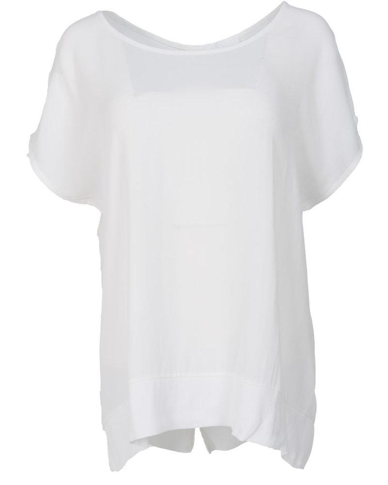 Gemma Ricceri Shirt Nika wit