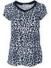 Gemma Ricceri Shirt Tara panterprint blauw