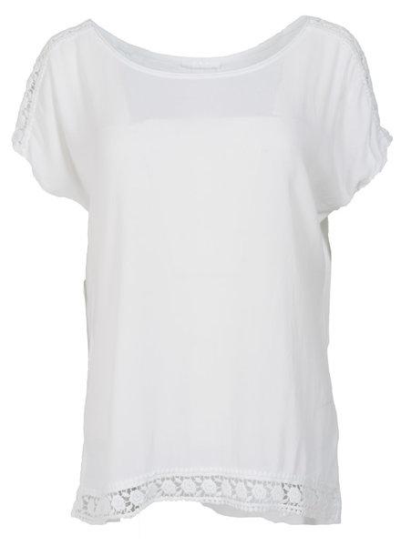 Gemma Ricceri Shirt Madelief wit