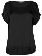 Gemma Ricceri Shirt Silk touch zwart