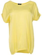 Rebelz Collection Shirt Mia v hals geel