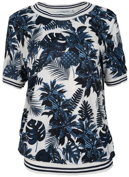 Gemma Ricceri Shirt Ronnie wit/blauw