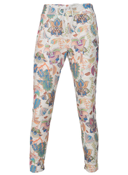 Gemma Ricceri Joggingbroek Chanti wit
