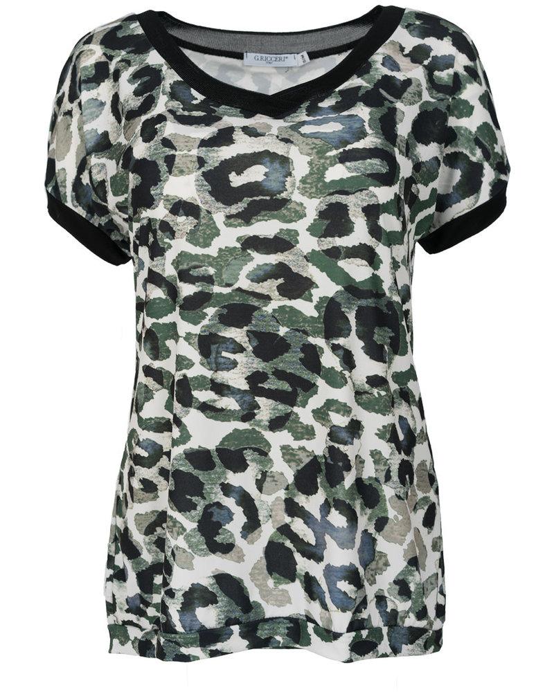 Gemma Ricceri Shirt Lana groen