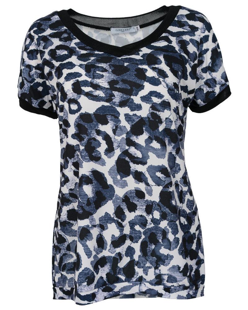 Gemma Ricceri Shirt Lana blauw