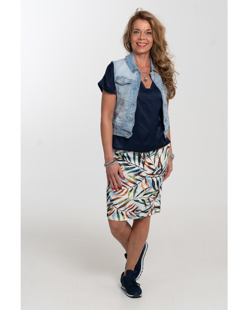 Gemma Ricceri Pantalon Mieke groen/bruin