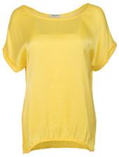 Gemma Ricceri Shirt silk touch midden geel