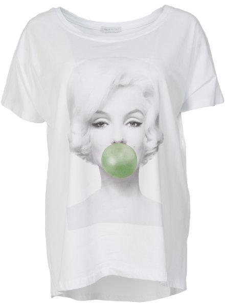 Gemma Ricceri Shirt Buba wit/groen