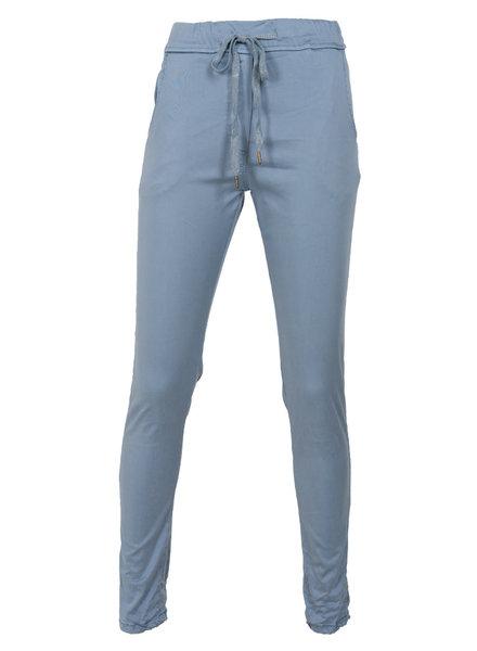 Gemma Ricceri Broek tencel Donna jeansblauw