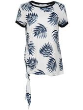 Gemma Ricceri Shirt Lydia wit/blauw