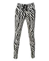 Gemma Ricceri Pantalon Zelma zwart/wit/groen