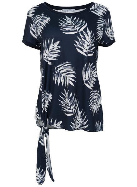 Gemma Ricceri Shirt Lydia blauw/wit