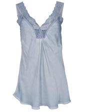 Gemma Ricceri Top Shirley jeansblauw