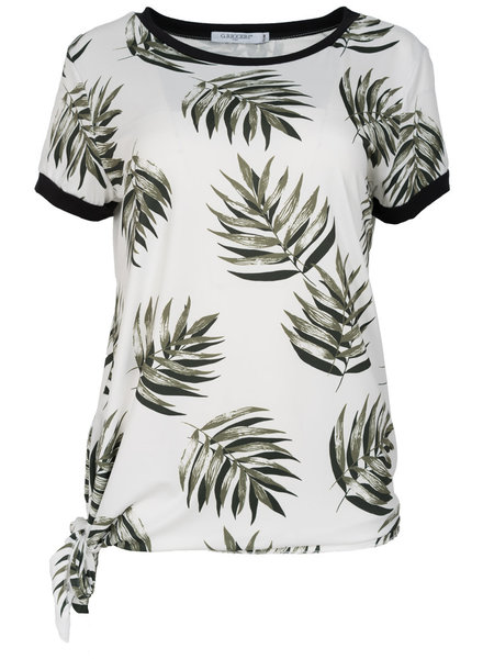 Gemma Ricceri Shirt Lydia wit/groen