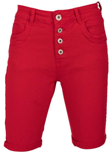 Gemma Ricceri Korte broek rood