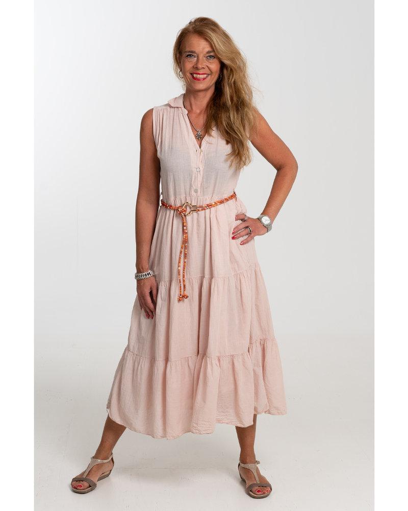 Gemma Ricceri Jurk Donna lang roze