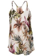 Gemma Ricceri Top Flora print off-white