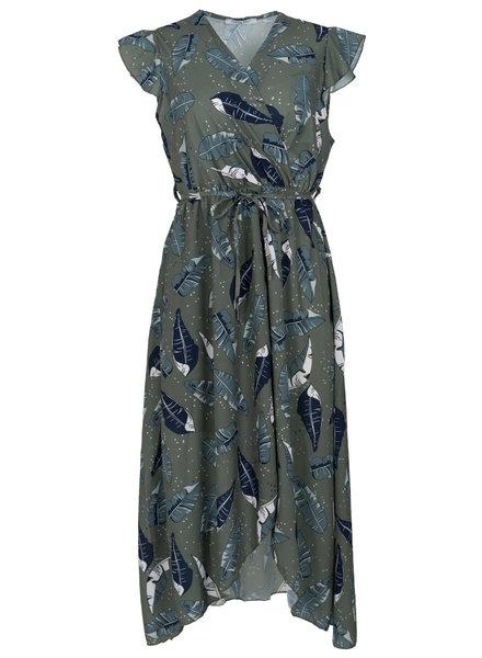 Gemma Ricceri Jurk Daisy groen/blauw