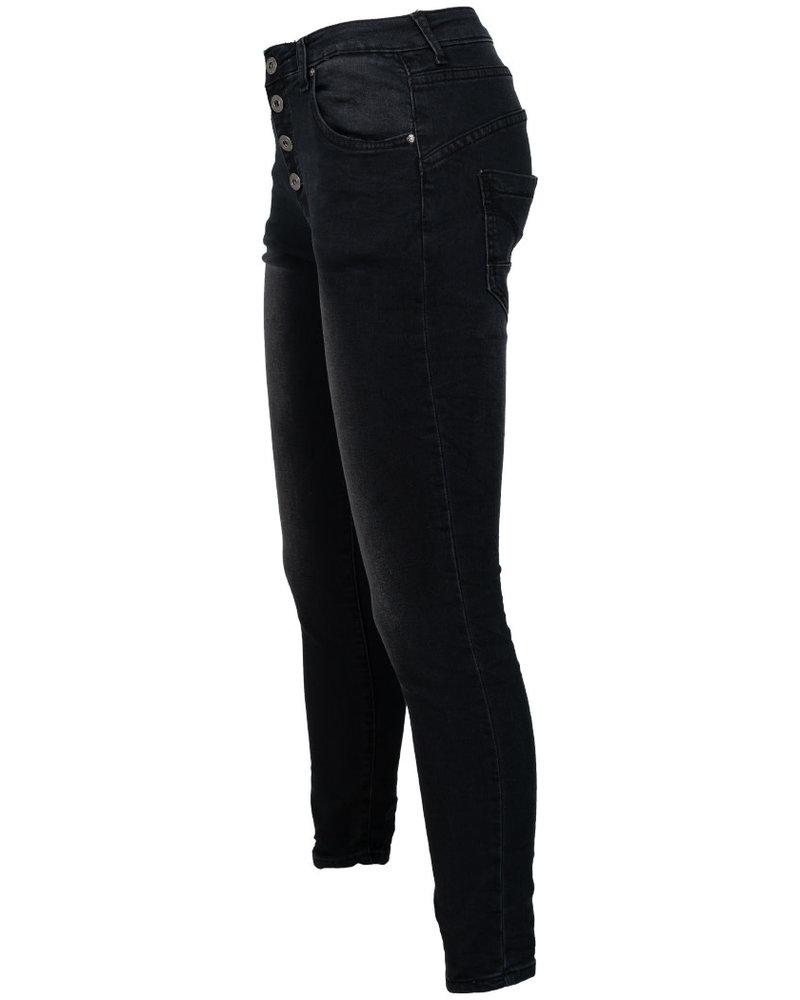 place du Jour Jog jeans Leonie zwart