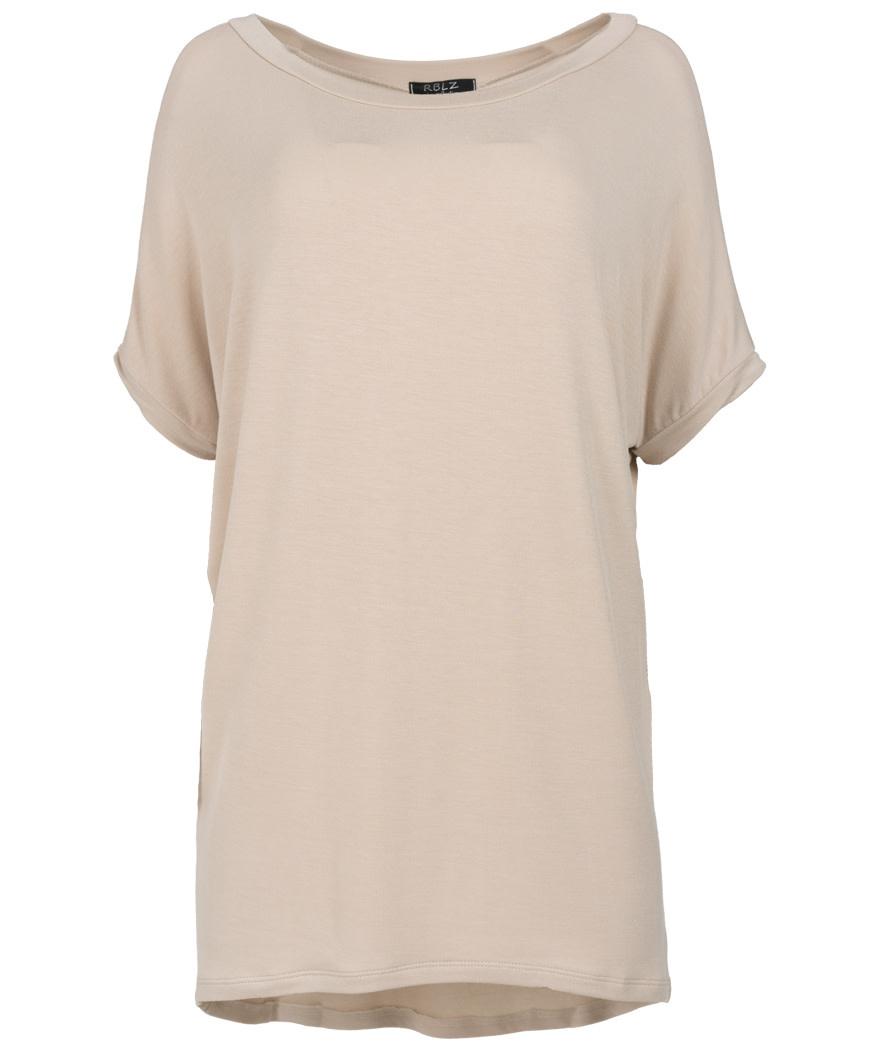 Rebelz Collection Shirt big Resa beige