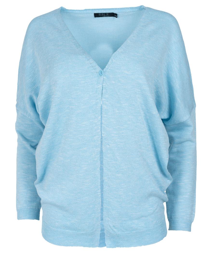 Rebelz Collection Vest Mavis lichtblauw
