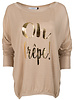 Gemma Ricceri Shirt oh crepe beige/goud