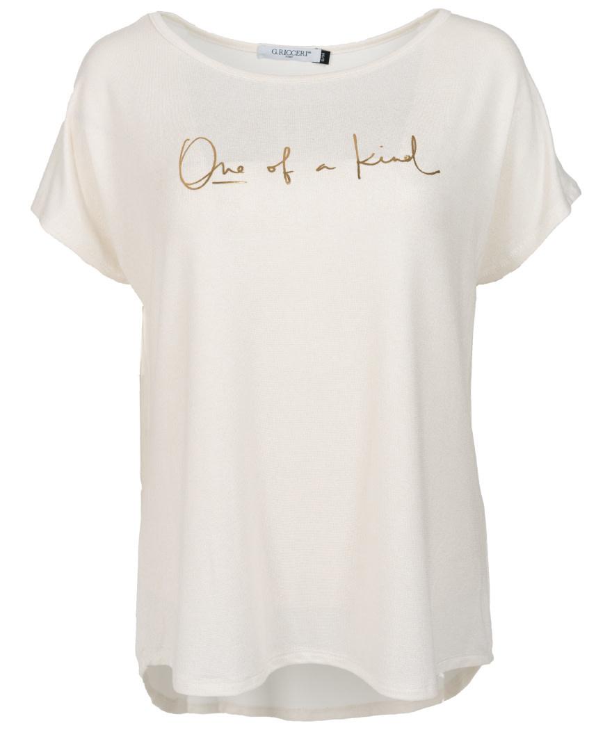 Gemma Ricceri Shirt one of a kind off-white