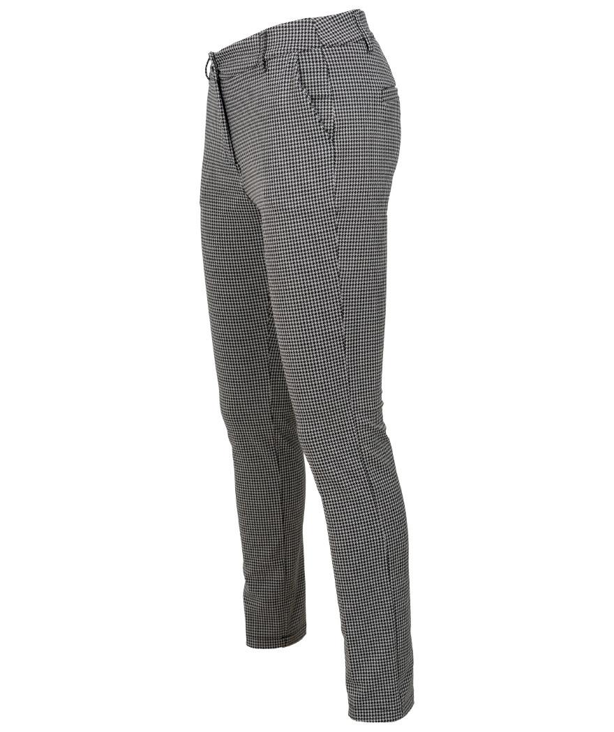 Gemma Ricceri Pantalon Irma zwart/wit