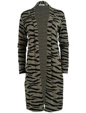 Gemma Ricceri Vest Tini zebra zwart/groen