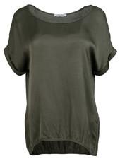 Gemma Ricceri Shirt silk touch donkergroen