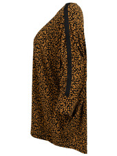 Gemma Ricceri Shirt Kikki zwart/camel