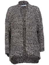 Gemma Ricceri Vest Mandy grijs/zwart
