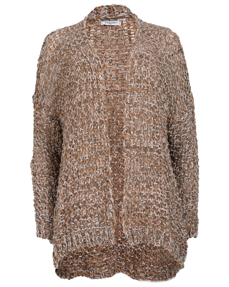 Gemma Ricceri Vest Mandy camel