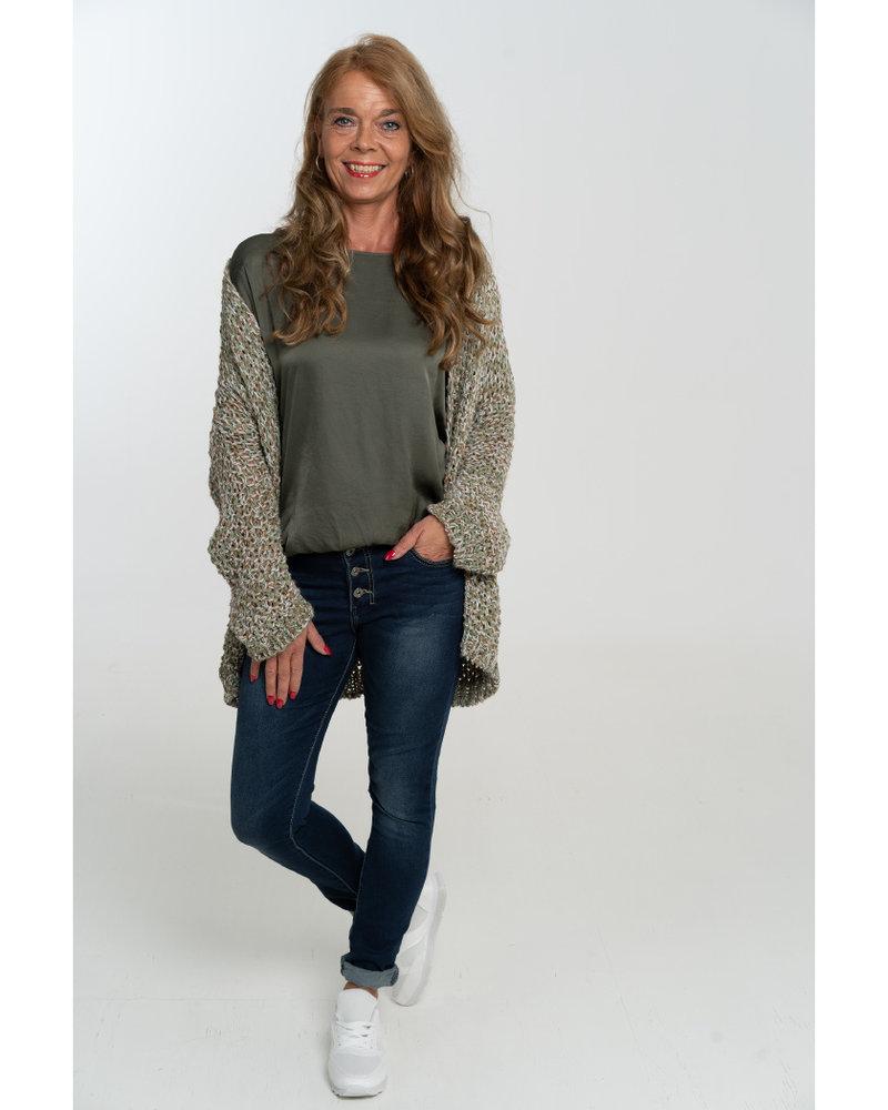 Gemma Ricceri Vest Mandy groen