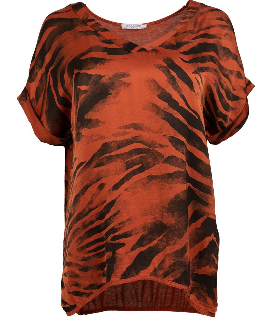 Gemma Ricceri Shirt v -hals Kim roestbruin