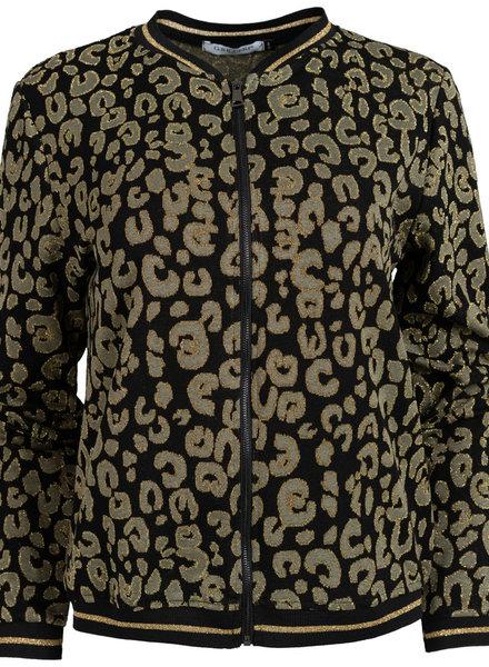 Gemma Ricceri Bomber jacket Lua zwart/groen