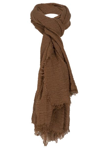 Sjaal Lies bruin