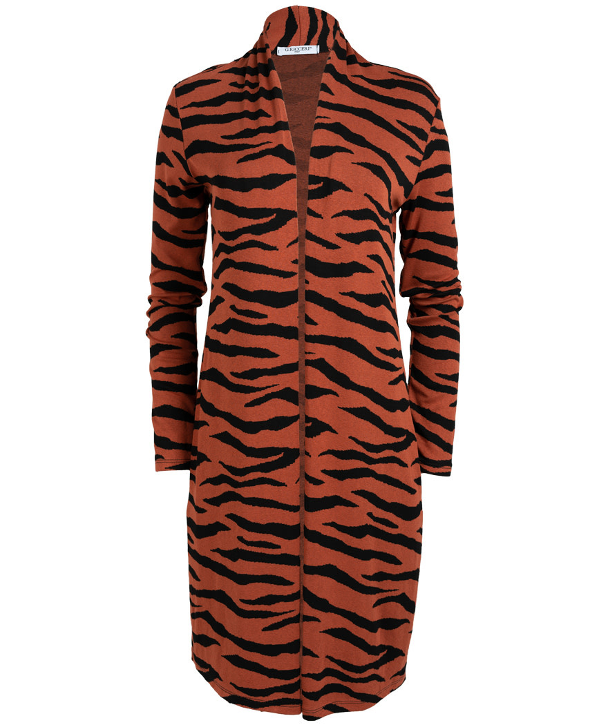 Gemma Ricceri Vest Tini zebra roestbuin