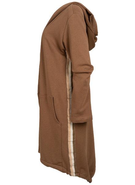 Gemma Ricceri Vest capuchon Patty camel