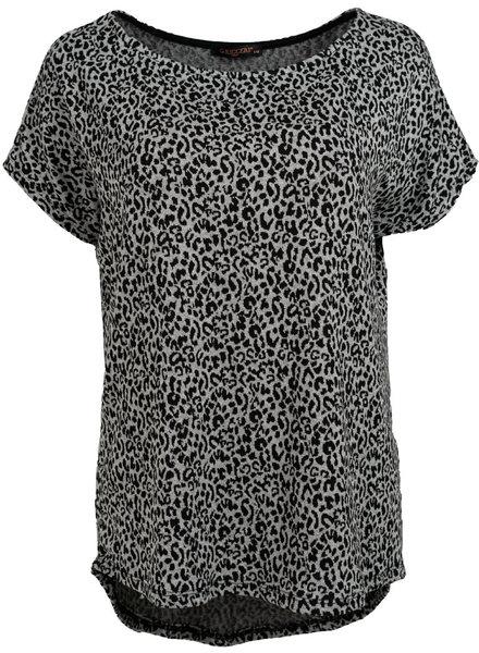Gemma Ricceri Shirt Tess zwart/grijs