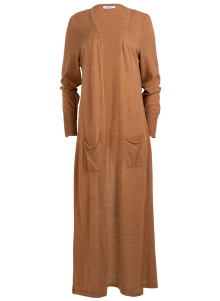 Gemma Ricceri Vest Manon camel