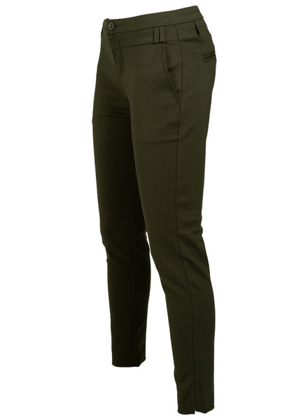 Wannahavesfashion Pantalon Tracey groen