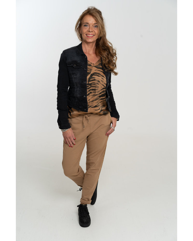 Gemma Ricceri Joggingbroek Fenne camel