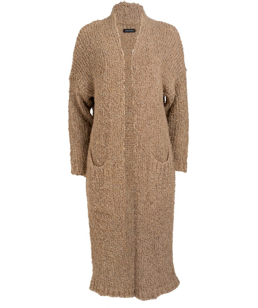 Gemma Ricceri Vest Koosje beige/camel