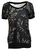 Gemma Ricceri Shirt Kelly zwart/groen