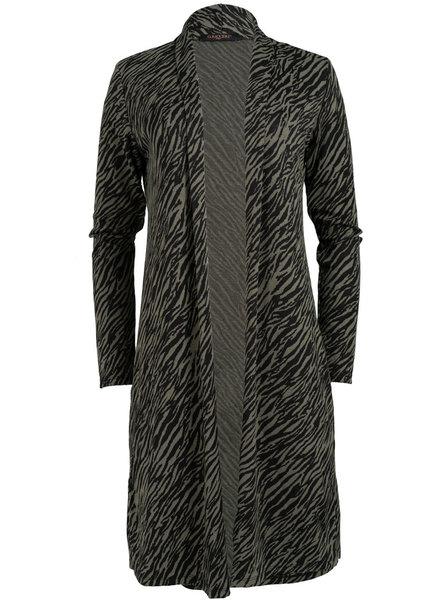 Gemma Ricceri Vest Mody groen/zwart