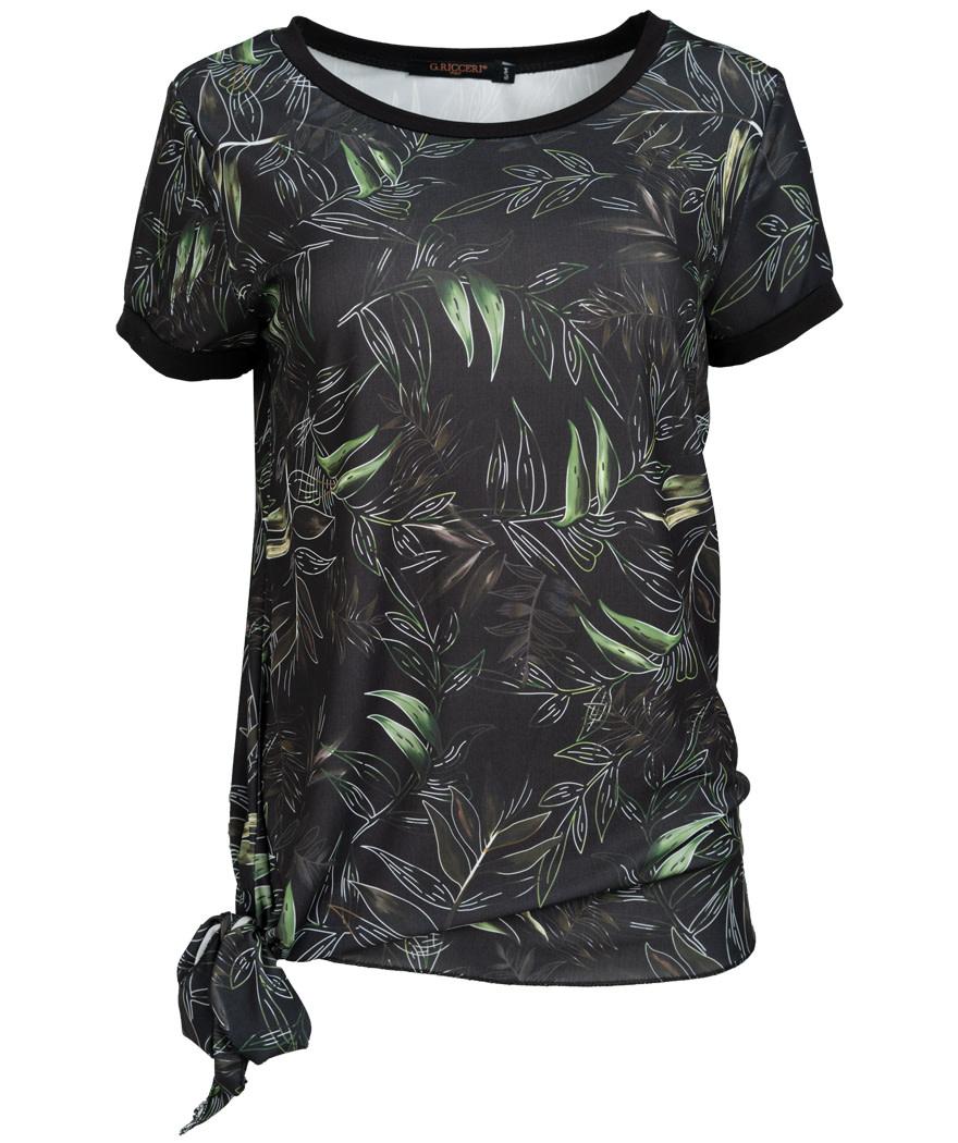 Gemma Ricceri Shirt Novi zwart/groen