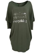 Gemma Ricceri Shirt oversized everything groen